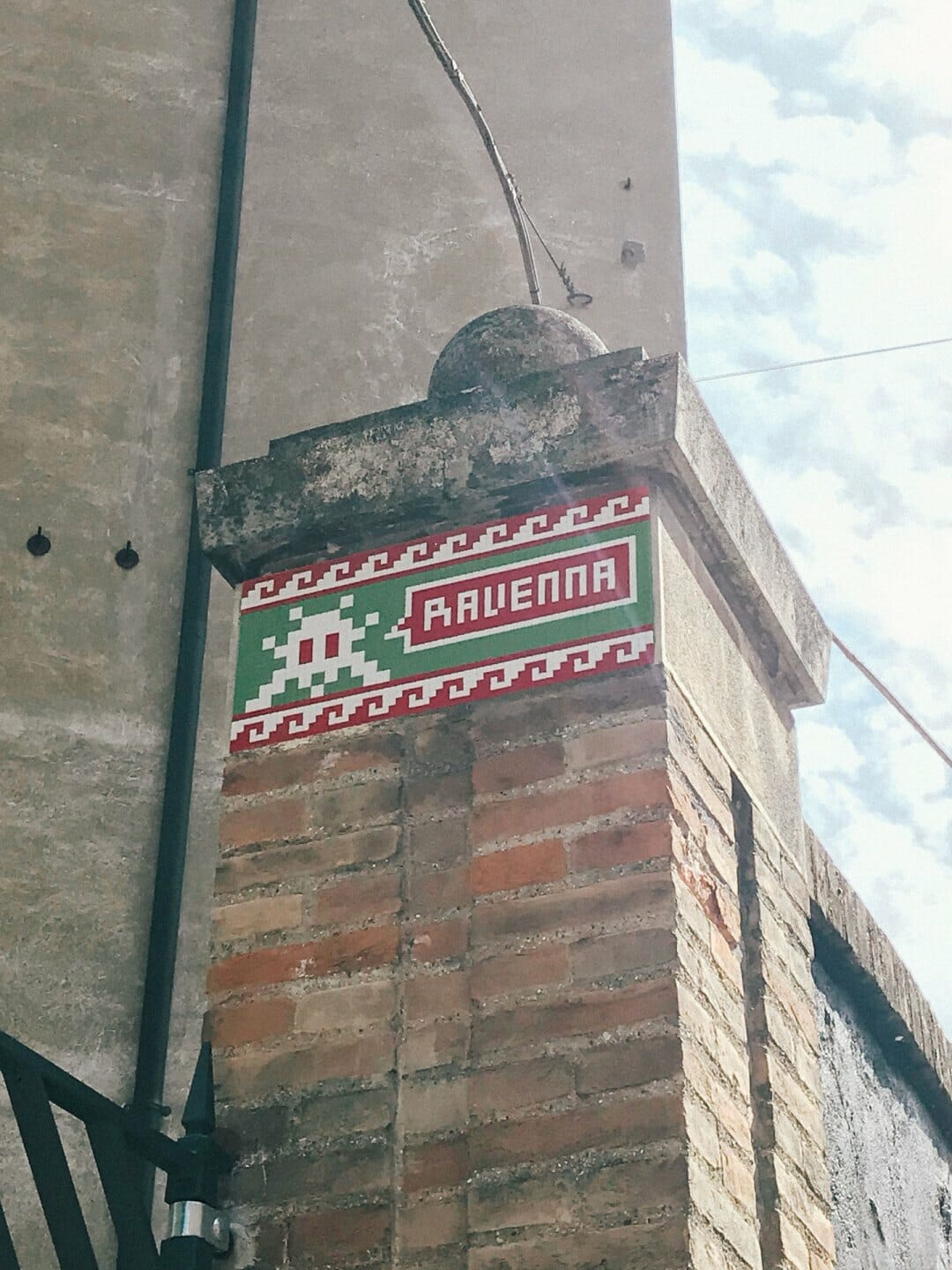 Space Invader in Ravenna