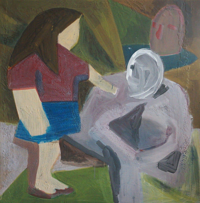 Steve Ingham, Girl and ghost, 2020
